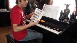 TUTORIAL -- Enya -- ONLY TIME & Sheet Music PART 1