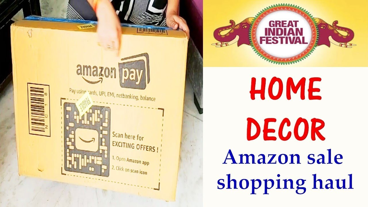 Home Decoration Haul Amazon Shopping Haul Amazon Home Decor Items Shopping Haul Youtube