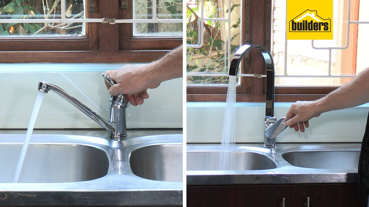 How To Change A Kitchen Sink Tap Youtube