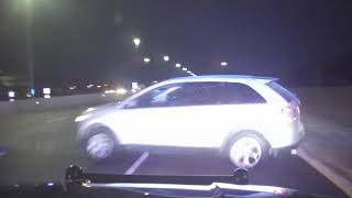 Hilliard police officer conducts pursuit on I-270