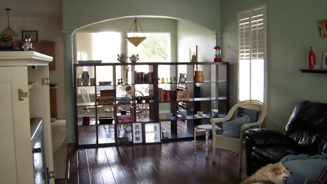 Bookshelf Room Divider bookcase room dividers - youtube