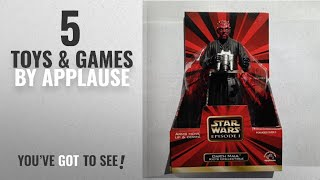 Top 10 Applause Toys & Games [2018]: Star Wars Darth Maul 6in Figure by Applause
