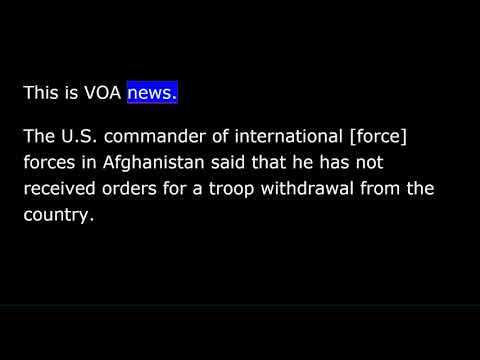 VOA news for Monday, December 24th,  2018 Mp3