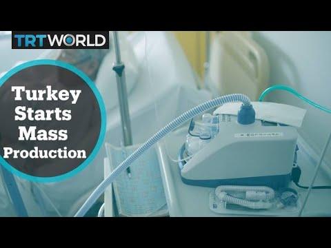 Turkey starts mass production of ventilators