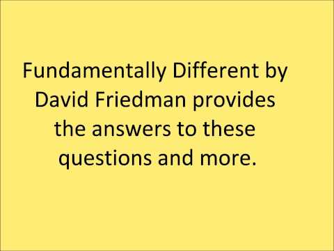 Fundamentally Different By David Friedman.wmv