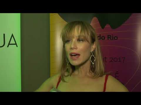 Mariana Ximenes na abertura do Festival do Rio 2017