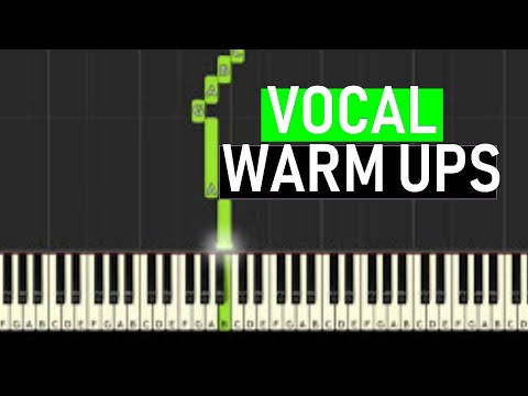 ♬ VOCAL WARM UPS #3 Minor Harmonic Scales 14 mins   Soulphonic ♬