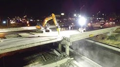 Austin TX I35 Oltorf Bridge Demolition