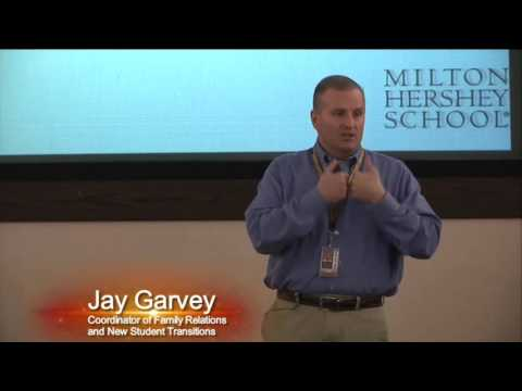 """Milton Hershey School: Family Relations Discussion - """"Being a Spartan Sponsor"""""""
