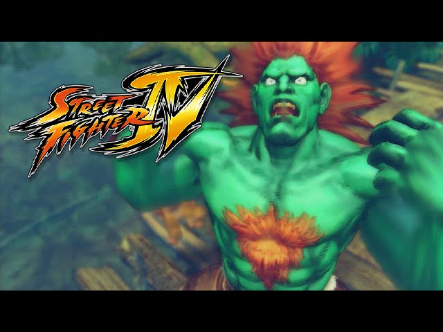 Street Fighter Iv: Zerando Com Blanka No Arcade - (gameplay No Ps3)