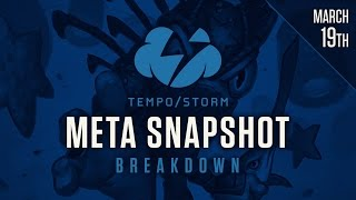 Hearthstone Meta Snapshot Breakdown: March 19th, 2017