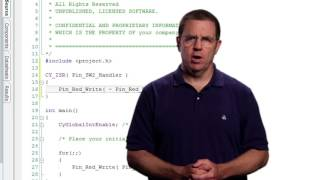 Cypress Academy:  PSoC 101- Lesson 3: Interrupts