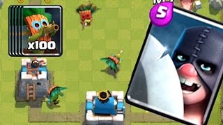 100 DART GOBLINS PLUS EXECUTIONER COMING SOON | Clash Royale