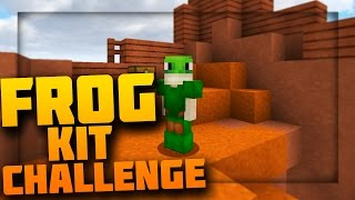 FROG ONLY CHALLENGES! (3 IN 1) MInecraft` Hypixel Skywars!