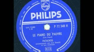 Patachou - Le Piano du Pauvre
