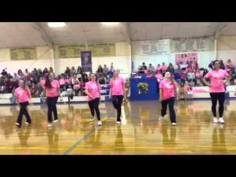 Hollaback girl(clean) cheer dance