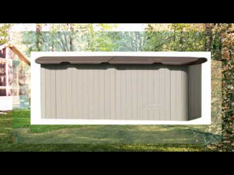Delicieux Suncast Horizontal Storage Shed Review