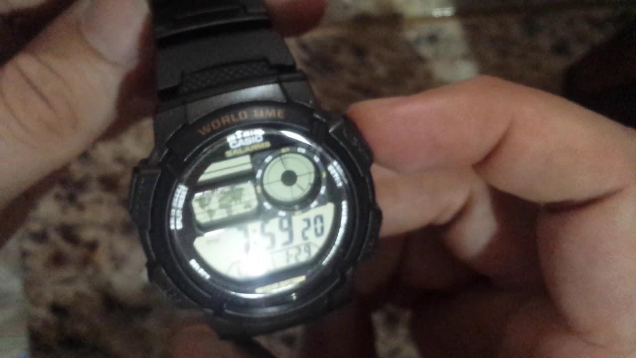 7db45f990ae Relógio Casio Ae-1000w Original Novo Mercado Livre Venda - YouTube