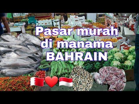 Pasar TERMURAH di BAHRAIN semua fresh,  MANAMA market