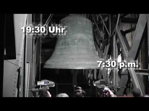 Vollgeläut der Glocken des Kölner Doms