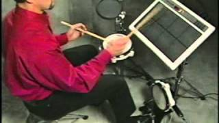 2000 Roland Handsonic HDP-15 and SPD-20 Total Percussion Pad Demo Video Part 2 of 2