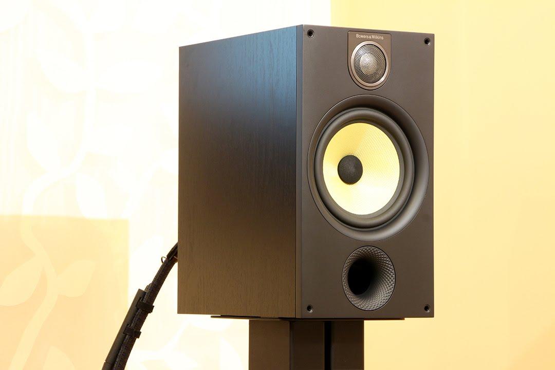 B W 685 S2 Bookshelf Speakers Sound Demo Rock