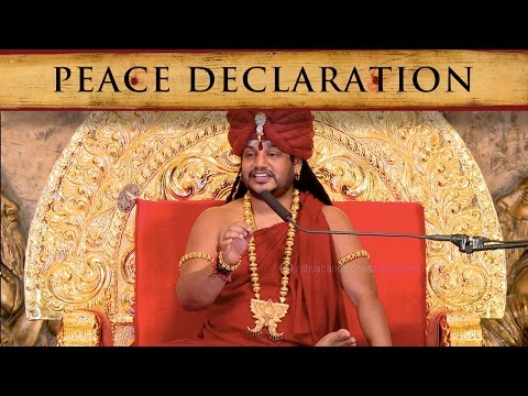 Shanti Mantra - Peace Declaration