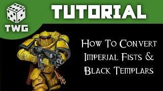 Warhammer Tutorial: Converting Primaris Black Templars & Imperial Fists