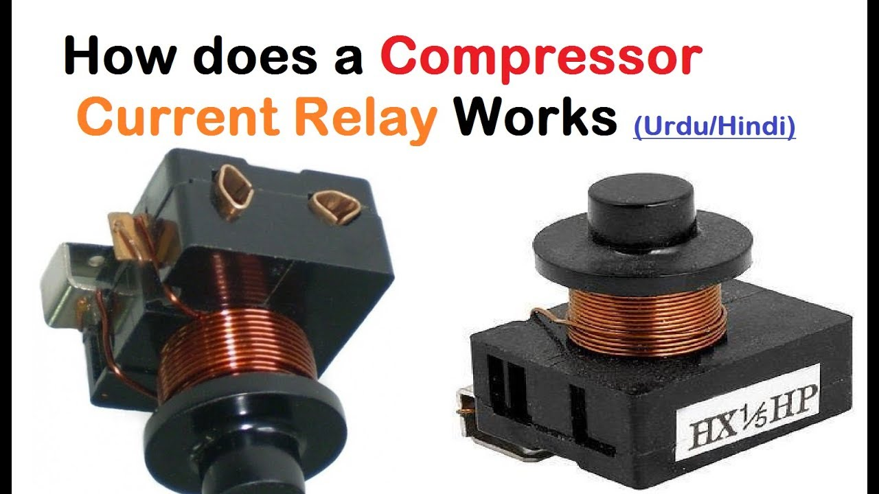 current relay compressor