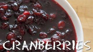 How To Make Tea Infused Cranberry Sauce