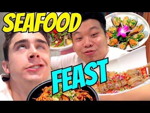 Insane SEAFOOD FEAST in Guangzhou, China