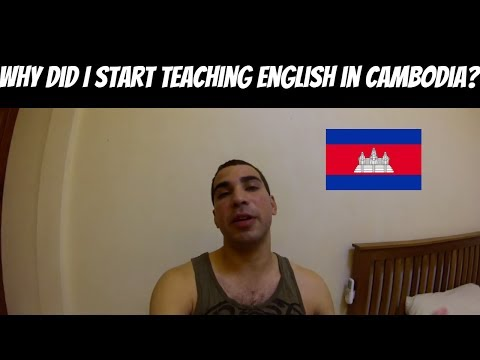 Why did I start teaching english in Cambodia? Sash Says 2