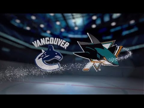 Vancouver Canucks vs San Jose Sharks - November 11, 2017 | Game Highlights | NHL 2017/18.Обзор матча