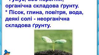 """Презентація до уроку: """"Ґрунт. Склад ґрунту. Різноманітність ґрунтів"""""""