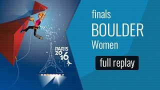 IFSC World Championships Paris 2016 - Finals - Women Bouldering & Men Paraclimbing AL-2(Watch the full replay of the Women Bouldering and Men Paraclimbing AL-2 Finals in Paris. All the information about the event on: ..., 2016-09-18T13:27:17.000Z)