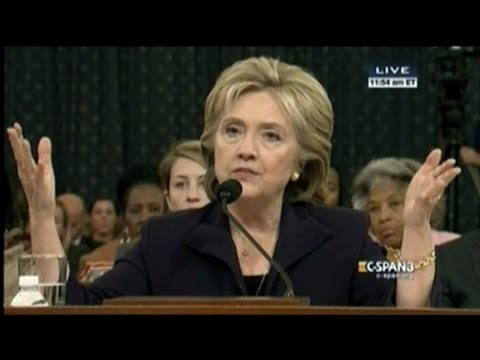 Hillary Clinton Testifies About Benghazi Attacks! (FULL Hearing part_1)