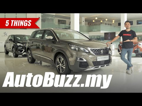 2019 Peugeot 5008 Allure Plus 7-seater SUV, 5 Things - AutoBuzz.my