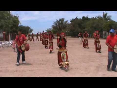 danzantes indigenas de la virgen de guadalupe 2013