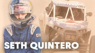 ONLY 15 years old and already tackling historic Mint 400.