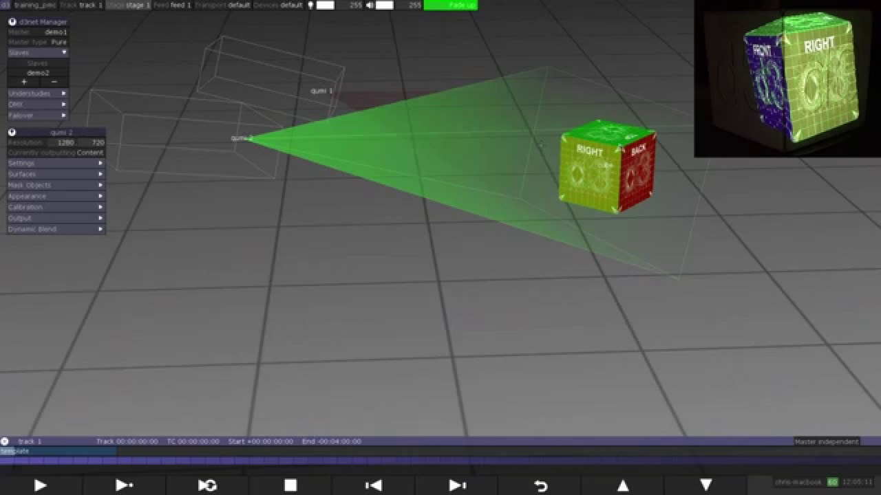 9.2 Quick Calibrate Projector - YouTube