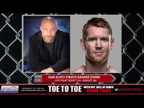 Frank Trigg pre-fight interview with UFC Fight Night 114's Sam Alvey