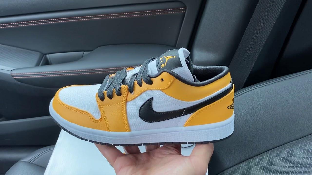 Air Jordan 1 Low Laser Orange shoes