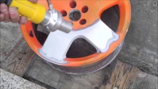 tryskání hlinikových ALU disků
