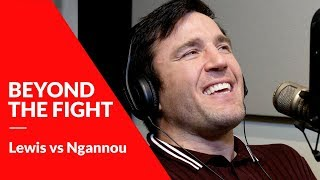 Chael Sonnen is impressed with Derrick Lewis'