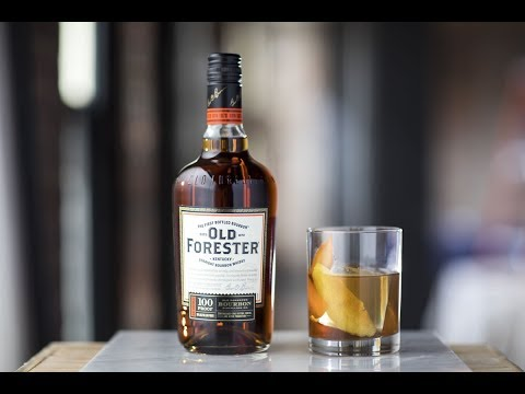 Old Forester Derby Cocktails: Old Forester Old Fashioned (featured at Thurby)