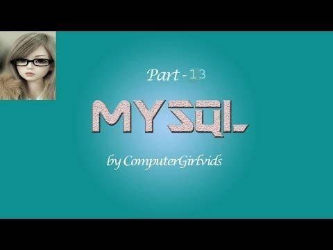 Mysql Tutorial In Hindi Part Alter Drop And Rename