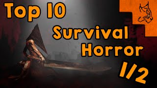 Top 10 Survival Horror favoritos (10-6)