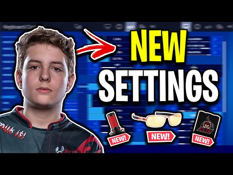 MSF Clix's Fortnite Chapter 2 Settings, Keybinds & Setup (UPDATED)