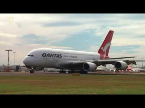 Qantas Flight 32 - Landing Animation