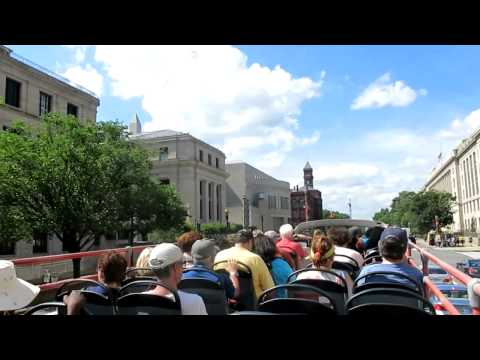 USA: Bus tour in Washington DC 2015